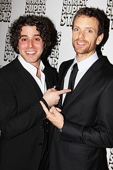 Jesus Christ Superstar opening night – Josh Young – Paul Nolan