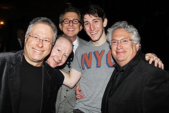 Newsies Gypsy Robe – Alan Menken – Jack Feldman – Thomas Schumacher - Ben Fankhauser - Harvey Fierstein