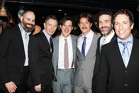 Peter and the Starcatcher Opening Night – Matt D'Amico – Arnie Burton – Carson Elrod – Rick Holmes – Kevin Del Aguila – David Rossmer