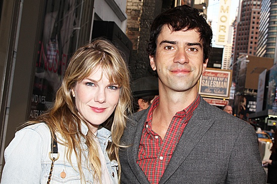 The Columnist Opening Night – Lily Rabe - Hamish Linklater
