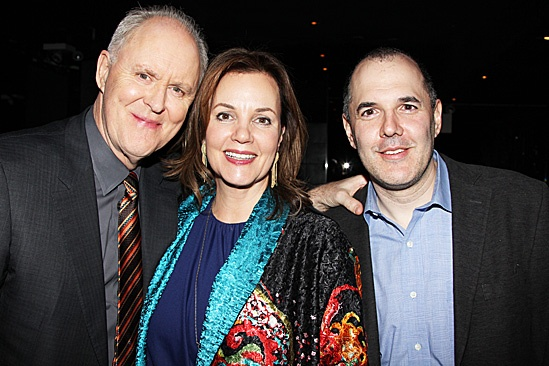 The Columnist Opening Night – John Lithgow – Margaret Colin – David Auburn