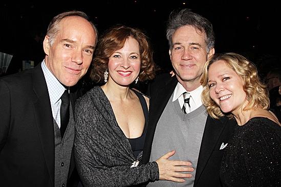 The Columnist Opening Night – Michael Winthur – Kathleen McNenny– Boyd Gaines  - Rebecca Luker
