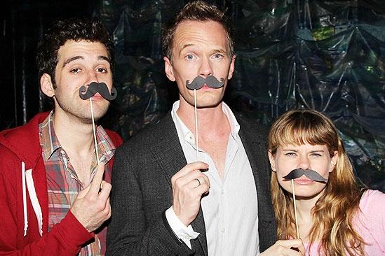 Neil Patrick Harris & More at Starcatcher –Adam Chanler-Berat - Neil Patrick Harris - Celia Keenan-Bolger