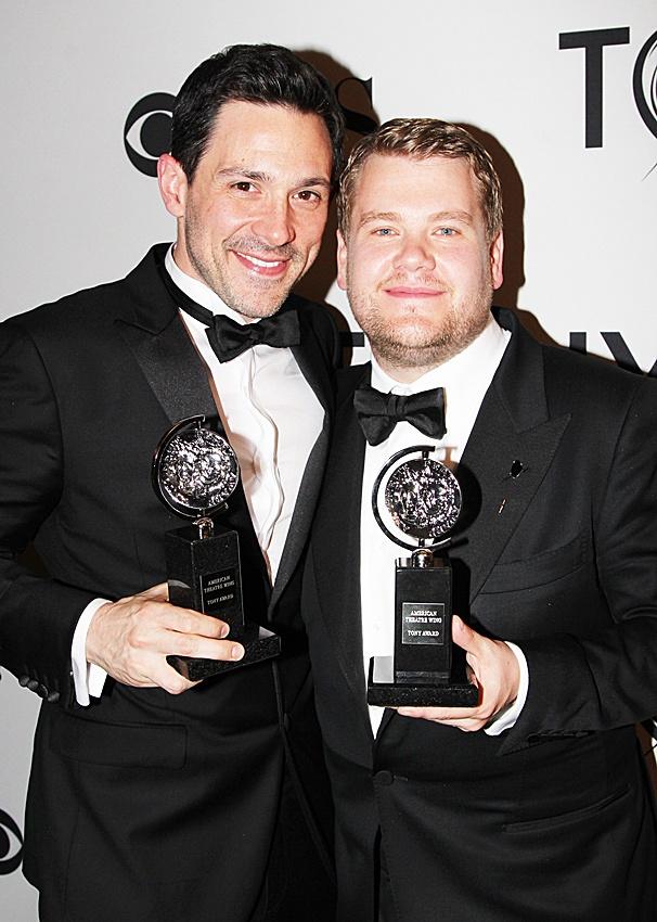 2012 Tony Awards Winner's Circle – Steve Kazee – James Corden