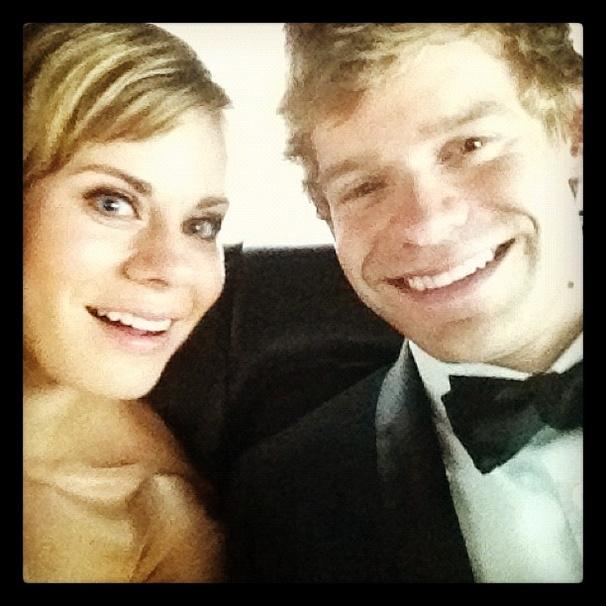2012 Tony Awards Instagram Snapshots - Celia Keenan-Bolger - Andrew Keenan-Bolger