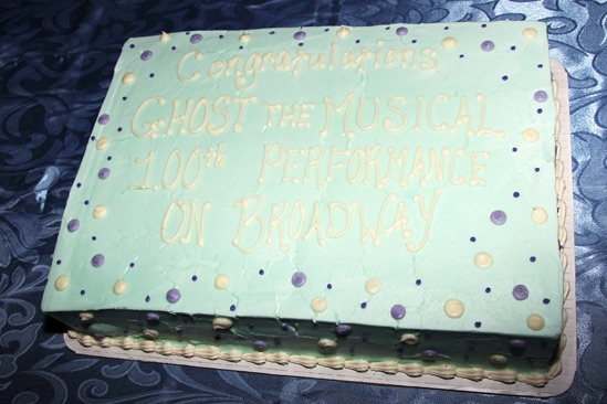Ghost Celebrates 100 Broadway Shows – cake