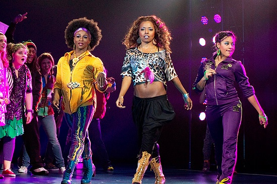 Show Photos - Bring It On: The Musical - Gregory Haney - Adrienne Warren - Ariana DeBose