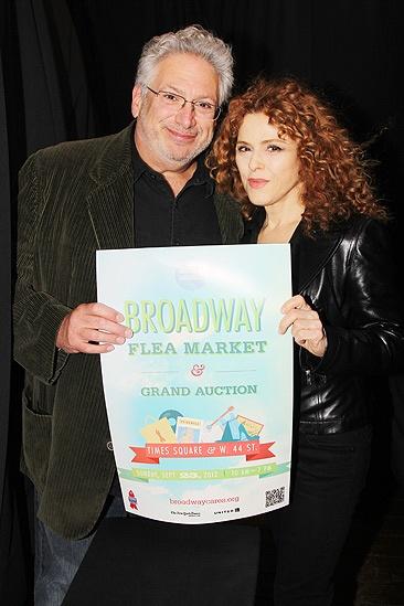 Broadway Flea Market – Harvey Fierstein- Bernadette Peters