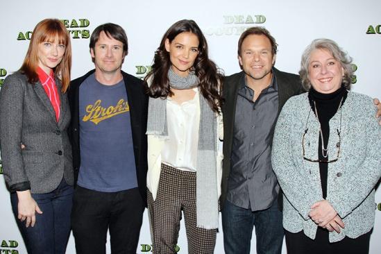 'Dead Accounts' Meet and Greet — Judy Greer — Josh Hamilton — Katie Holmes — Norbert Leo Butz — Jayne Houdyshell
