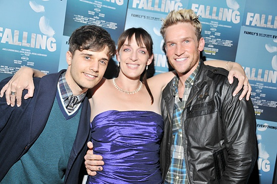 Falling- Andy Mientus- Julia Murney- Claybourne Elder