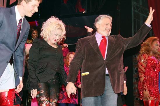 Kinky Boots- Stark Sands-Cyndi Lauper- Harvey Fierstein-Billy Porter