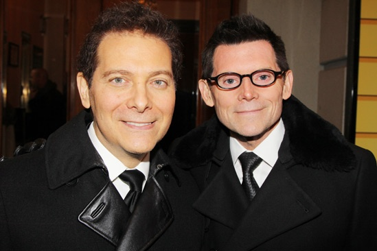 'A Christmas Story' Opening Night — Michael Feinstein — Terrence Flannery