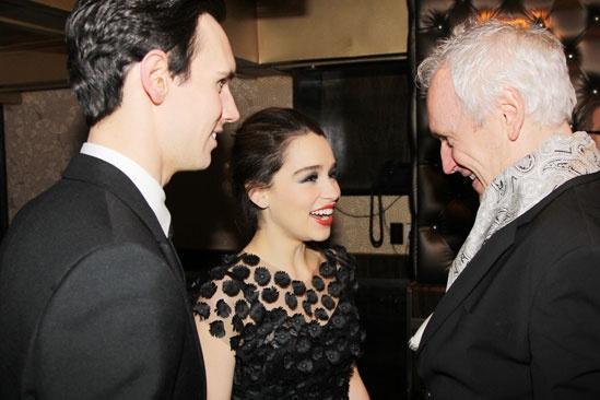 'Breakfast at Tiffany's' Opening — Cory Michael Smith — Emilia Clarke — Sean Mathias