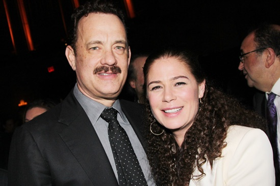 'Lucky Guy' Opening — Tom Hanks — Maura Tierney