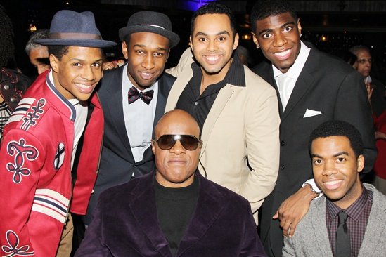 'Motown' Family Night — Ephraim Sykes — Donald Webber Jr. — Stevie Wonder — Jesse Nager — Jawan M. Jackson — Julius Thomas III