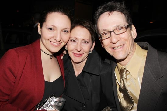 Pippin – Opening Night – daughter Louisa – wife - Larry Hochman