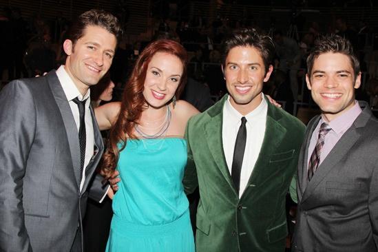 2013 Audience Choice Awards- Matthew Morrison – Sierra Boggsess- Nick Adams- Jeremy Jordan