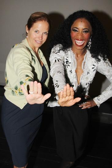 Katie Couric at 'Motown' — Katie Couric — Valisia LeKae