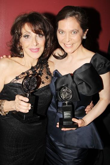 2013 Tony Awards Winner's Circle - Andrea Martin - Diane Paulus