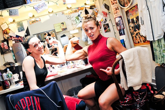 Pippin – Backstage Photos – Bethany Moore – Viktoria Grimmy