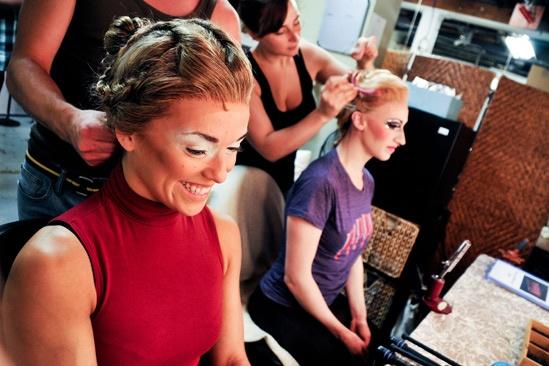 Pippin – Backstage Photos – Viktoria Grimmy – Molly Tynes