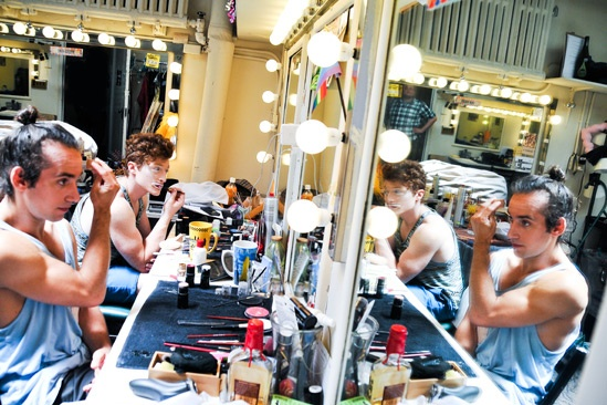 Pippin – Backstage Photos – Gregory Arsenal – Philip Rosenberg