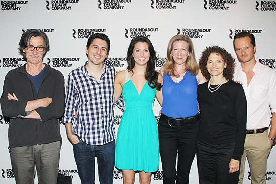 Roundabout Fall Kick-Off — Roger Rees — Stephen Pilkington — Meredith Forlenza — Henny Russell — Mary Elizabeth Mastrantonio — Chandler Williams