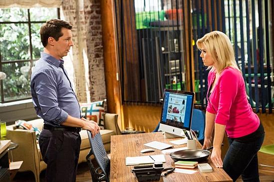 Fall TV Preview — Sean Saves the World — Sean Hayes —Megan Hilty