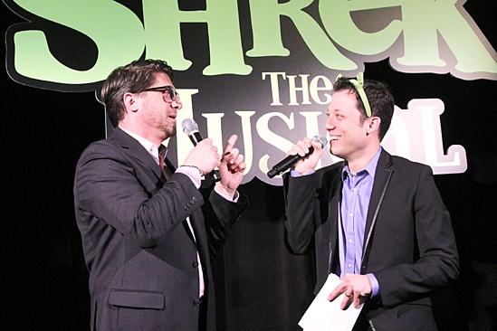 Shrek – DVD Release Party – Christopher Sieber – John Tartaglia