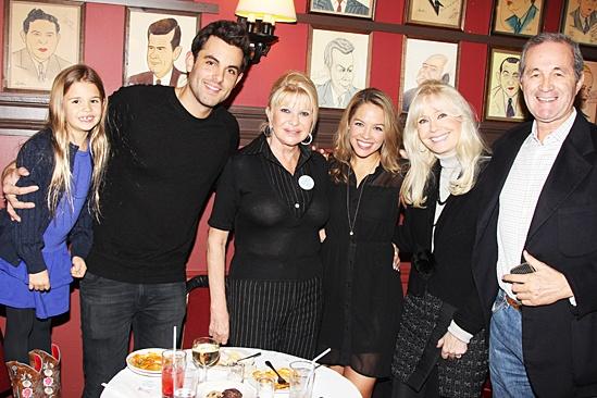 Mamma Mia – 5,000 performance – Kai Trump – Zak Resnick – Ivana Trump – Laurie Veldheer – Bonnie Haydon – Christian Curato