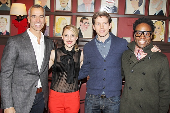 Kinky Boots at Sardi's – Jerry Mitchell – Annaleigh Ashford – Stark Sands – Billy Porter