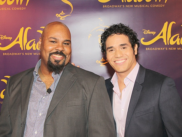 Aladdin - Meet and Greet - OP - James Monroe Iglehart - Adam Jacobs