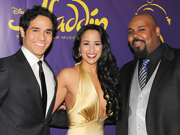 Aladdin - Opening - OP - 3/14 - Adam Jacobs - Courtney Reed - James Monroe Iglehart