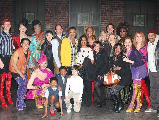 Kinky Boots - Billy Joel - OP - 3/14 - Robin Roberts - cast