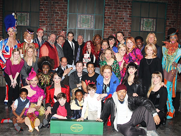 Kinky Boots - One Year Anniversary - OP - 4/14 - Cast