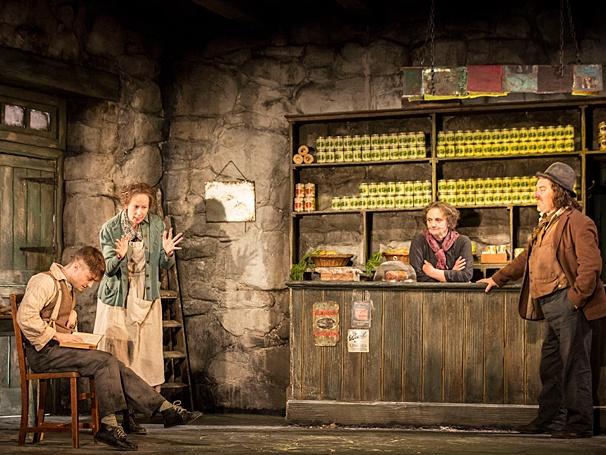 The Cripple of Inishmaan - Show Photos - PS - 4/14 - Daniel Radcliffe - Ingrid Craigie - Gillian Hanna - Pat Shortt