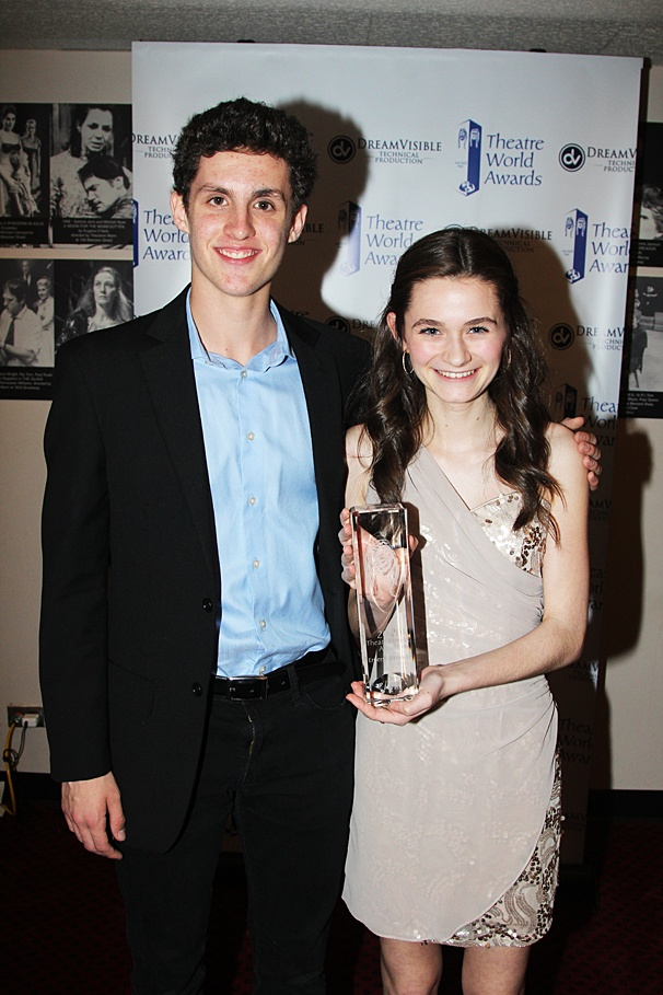 Theatre World Awards - OP - 6/14 - Trent Kowalik - Emerson Steele