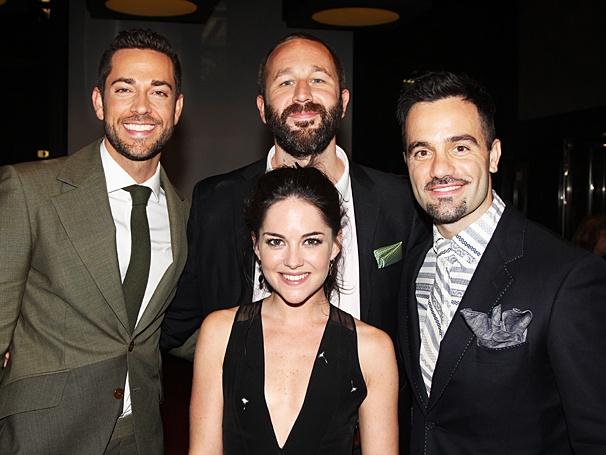 Theatre World Awards - OP - 6/14 - Zachary Levi - Chris O'Dowd - Ramin Karimloo - Sarah Greene