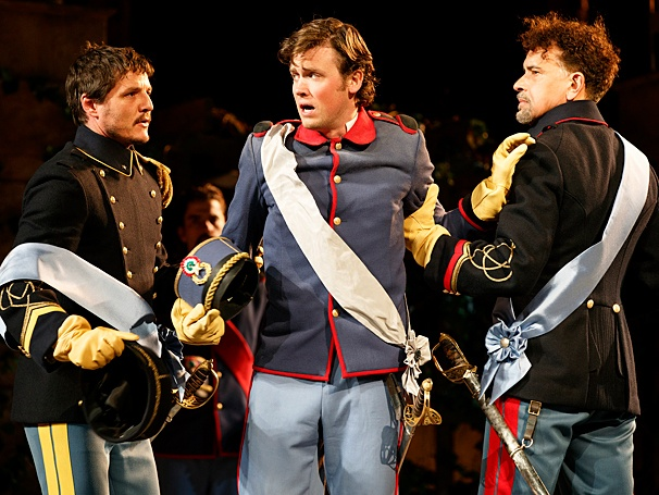 Much Ado About Nothing - Show Photos - PS - 6/14 - Pedro Pascal - Jack Cutmore-Scott - Brian Stokes Mitchell