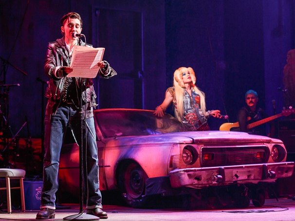 Hedwig and the Angry Inch - Show Photos - PS - 4/14 - Lena Hall  - Michael C. Hall