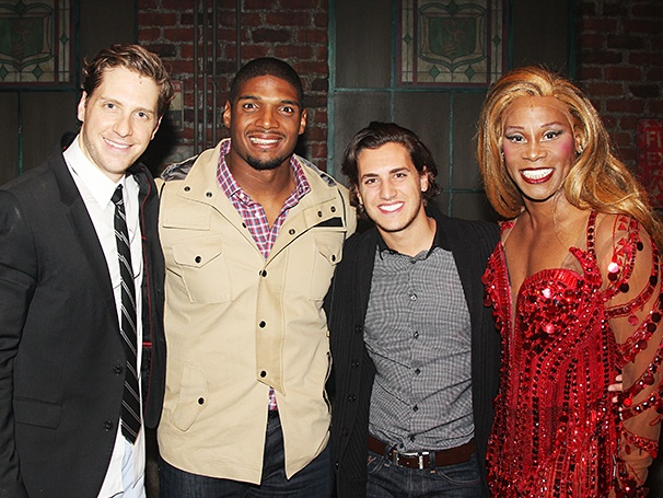 Kinky Boots - Backstage - 11/14 - Andy Kelso - Michael Sam - Vito Cammisano - Billy Porter