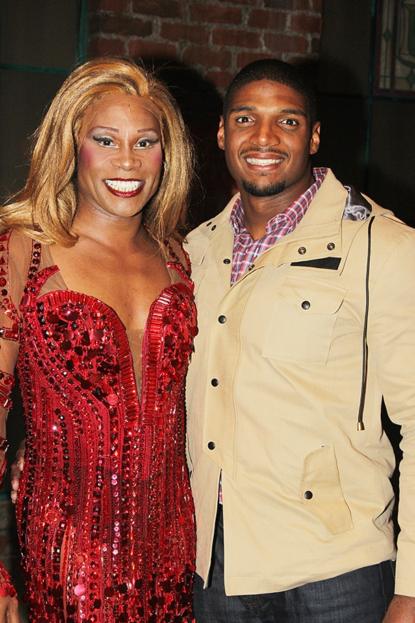Kinky Boots - Backstage - 11/14 - Billy Porter - Michael Sam