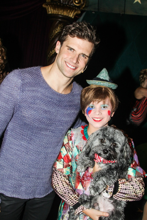 Pippin - Tour - Backstage - 11/14 - Kyle Dean Massey