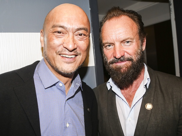 Tony Nominees - Brunch - 4/15 - Ken Watanabe - Sting