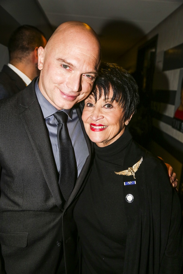 Tony Nominees - Brunch - 4/15 - Michael Cerveris - Chita Rivera