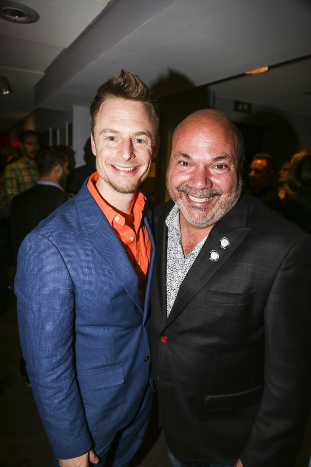 Tony Nominees - Brunch - 4/15 -  Christopher Wheeldon - Casey Nicholaw