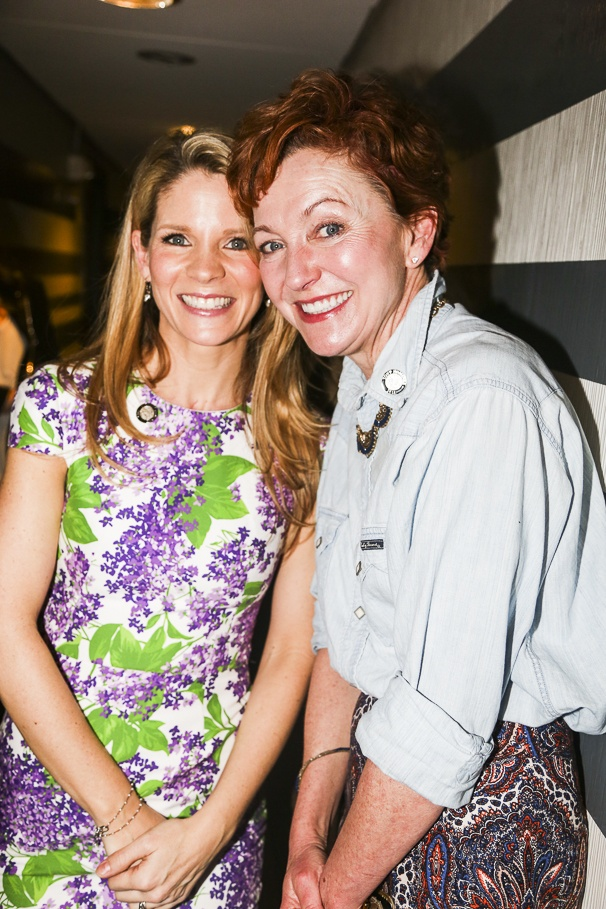 Tony Nominees - Brunch - 4/15 - Kelli O'Hara - Julie White