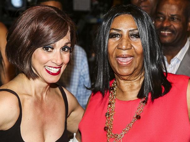 Chicago - Backstage - 5/15 - Donna Marie Asbury - Aretha Franklin