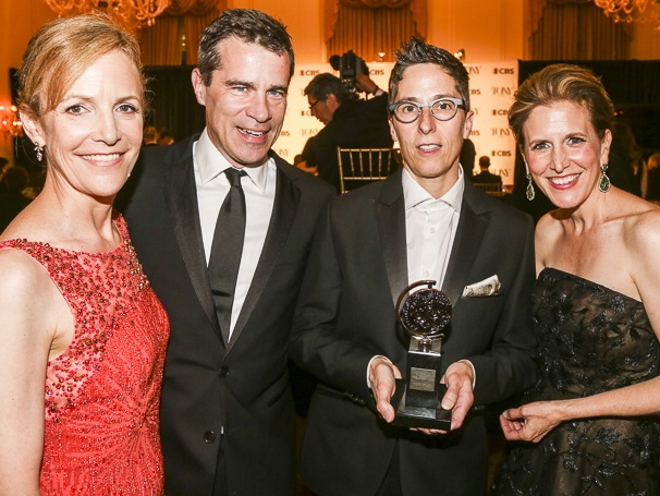 The Tony Awards - 6/15 - Barbara Whitman - Mike Isaacson - Alison Bechdel - Kristen Caskey