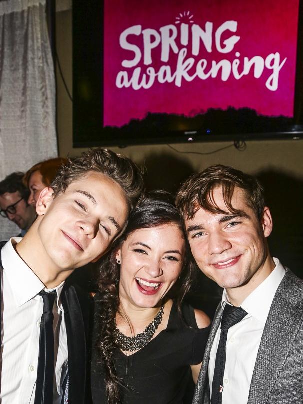 SPring Awakening - Opening - 9/15 - Austin McKenzie, Sandra Mae Frank and Daniel Durant